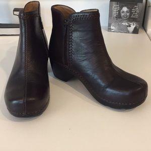 Dansko dark brown ankle boots, Sz 37 or 6.5/7